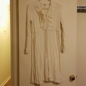 Free People button down dress